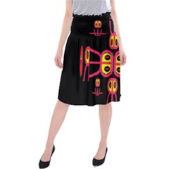 Alphabet Shirt R N R Midi Beach Skirt