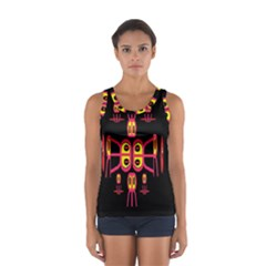Alphabet Shirt R N R Women s Sport Tank Top