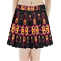 Alphabet Shirt R N R Pleated Mini Skirt View1