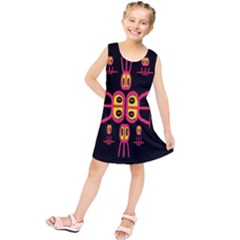 Alphabet Shirt R N R Kids  Tunic Dress