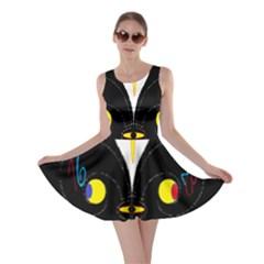 FLOWER OF LIFE TWO Skater Dress