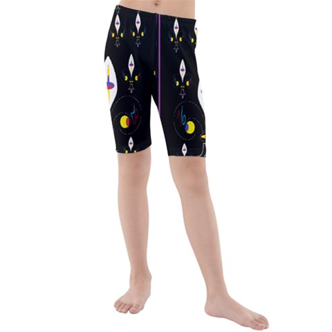 Clothing (25)gee8dvdynk,k;; Kids  Mid Length Swim Shorts