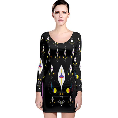 Clothing (25)gee8dvdynk,k;; Long Sleeve Bodycon Dress