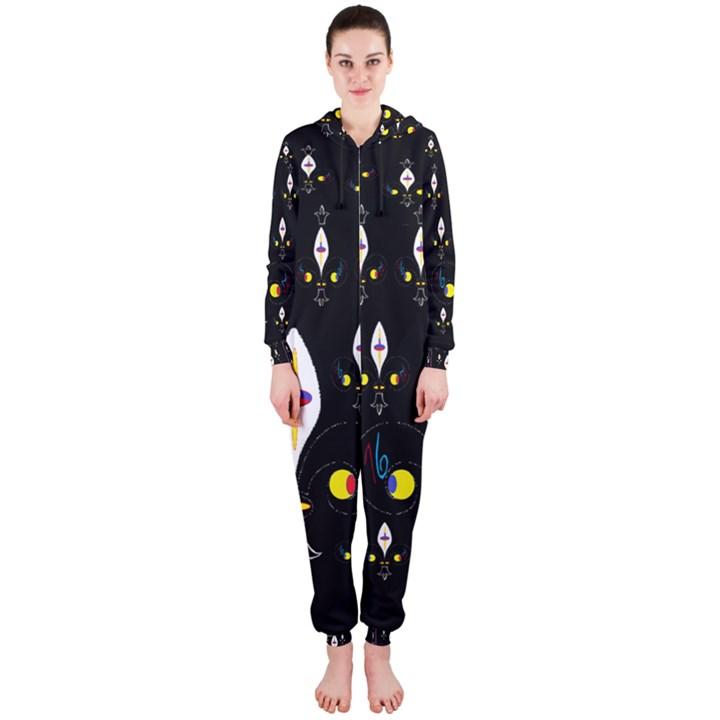 Clothing (25)gee8dvdynk,k;; Hooded Jumpsuit (Ladies)