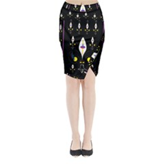 Clothing (25)gee8dvdynk,k;; Midi Wrap Pencil Skirt