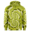 Crazy Dart Green Gold Spiral Men s Zipper Hoodie View1