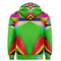 Colorful Abstract Butterfly With Flower  Men s Pullover Hoodie View2