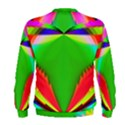 Colorful Abstract Butterfly With Flower  Men s Sweatshirt View2