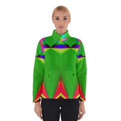 Colorful Abstract Butterfly With Flower  Winterwear