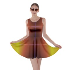 Abstract Painting Skater Dress
