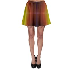 Abstract Painting Skater Skirt