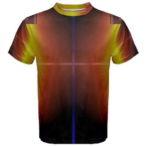 Abstract Painting Men s Cotton Tee