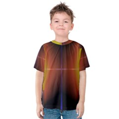 Abstract Painting Kids  Cotton Tee