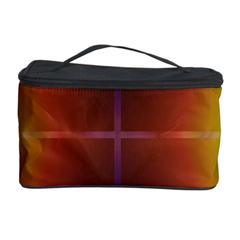 Abstract Painting Cosmetic Storage Case
