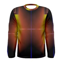 Abstract Painting Men s Long Sleeve Tee