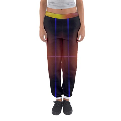Abstract Painting Women s Jogger Sweatpants