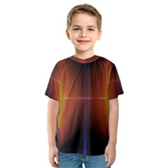 Abstract Painting Kids  Sport Mesh Tee