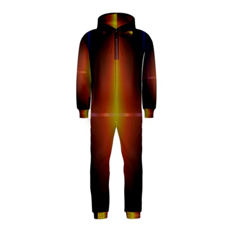 Abstract Painting Hooded Jumpsuit (Kids)
