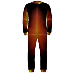 Abstract Painting OnePiece Jumpsuit (Men)