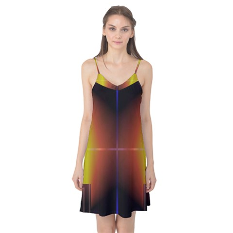 Abstract Painting Camis Nightgown
