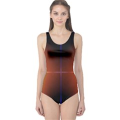 Abstract Painting One Piece Swimsuit