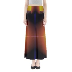 Abstract Painting Maxi Skirts