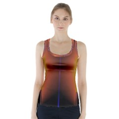 Abstract Painting Racer Back Sports Top