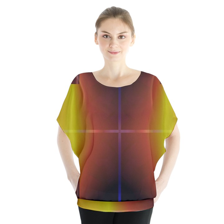 Abstract Painting Blouse