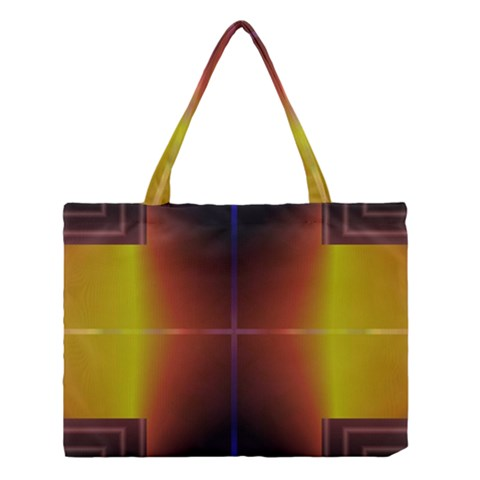 Abstract Painting Medium Tote Bag