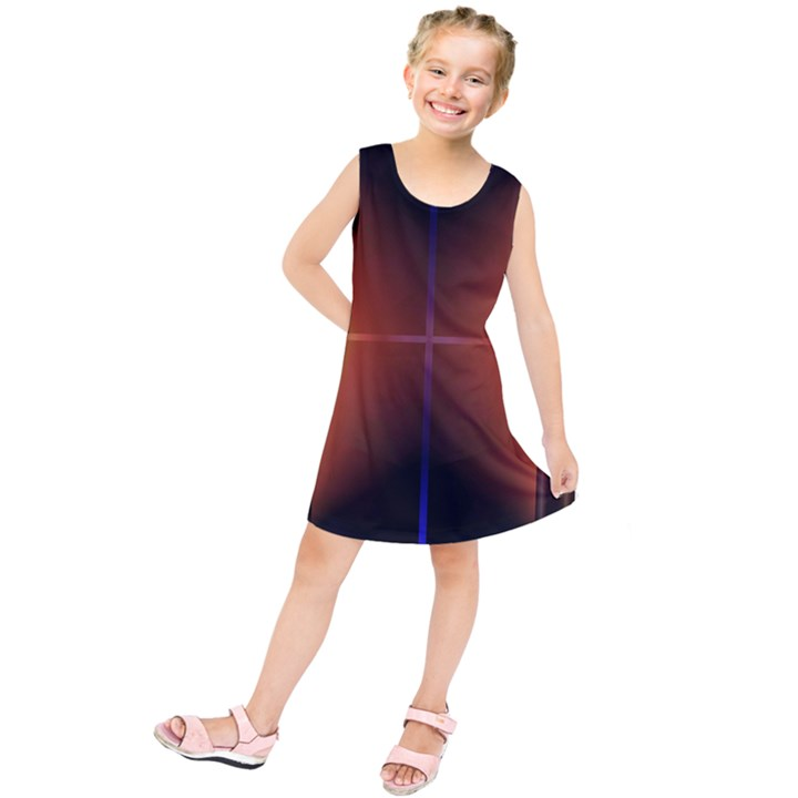 Abstract Painting Kids  Tunic Dress