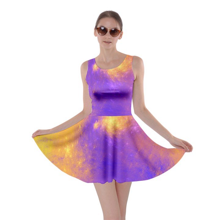 Colorful Universe Skater Dress