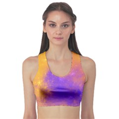Colorful Universe Sports Bra