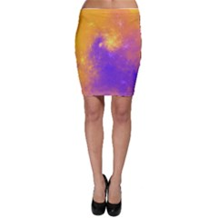 Colorful Universe Bodycon Skirt