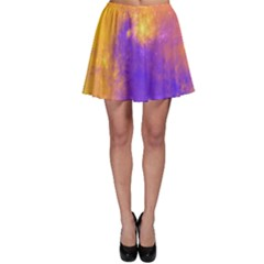 Colorful Universe Skater Skirt