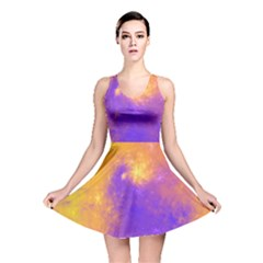 Colorful Universe Reversible Skater Dress