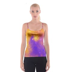Colorful Universe Spaghetti Strap Top