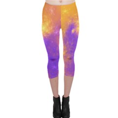 Colorful Universe Capri Leggings