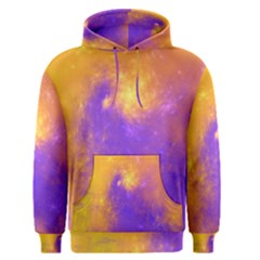 Colorful Universe Men s Pullover Hoodie