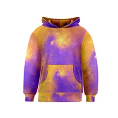 Colorful Universe Kids  Pullover Hoodie