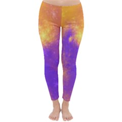 Colorful Universe Winter Leggings