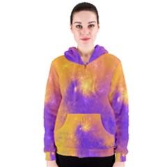 Colorful Universe Women s Zipper Hoodie
