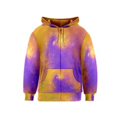 Colorful Universe Kids  Zipper Hoodie