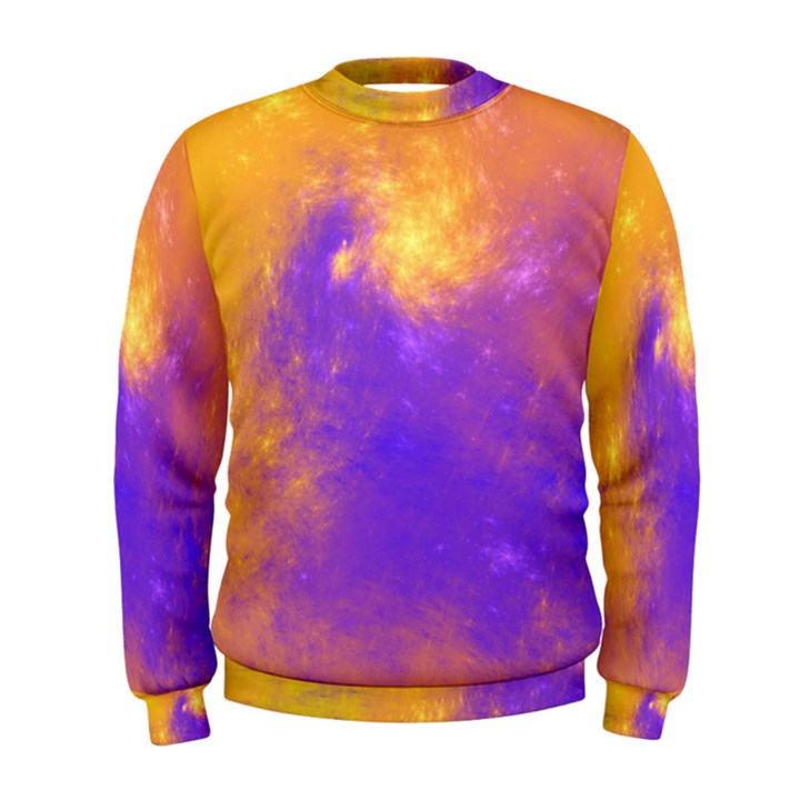 Colorful Universe Men s Sweatshirt