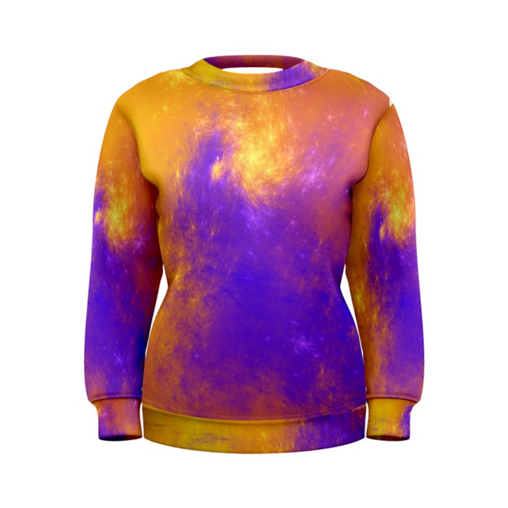 Colorful Universe Women s Sweatshirt