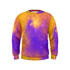 Colorful Universe Kids  Sweatshirt