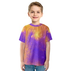Colorful Universe Kids  Sport Mesh Tee