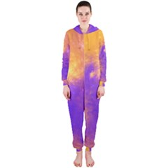 Colorful Universe Hooded Jumpsuit (Ladies)