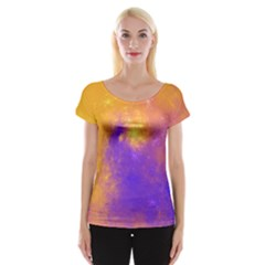 Colorful Universe Women s Cap Sleeve Top