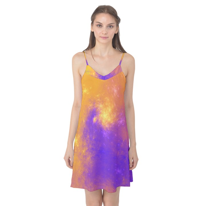 Colorful Universe Camis Nightgown