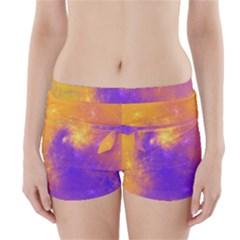 Colorful Universe Boyleg Bikini Wrap Bottoms